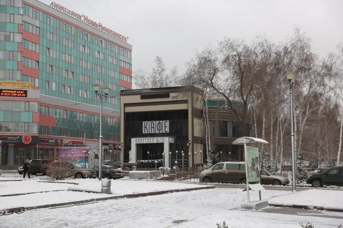 Участок возле ГПНТБ в аренде у ООО «Гамма» с 2011 года