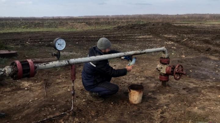 В Волгоградской области задержана банда похитителей нефти