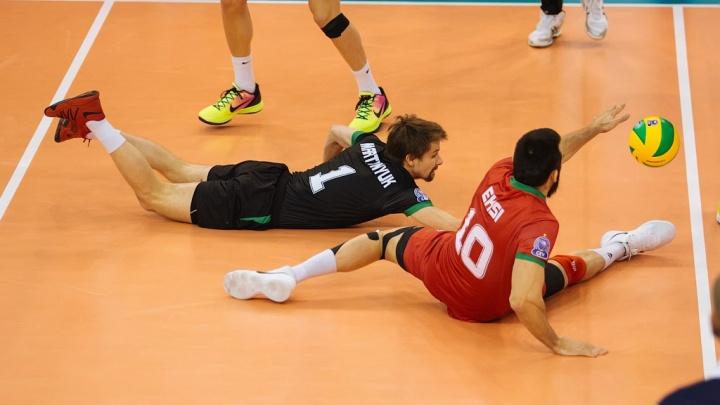 Волейбол: ВК «Локомотив» проиграл «Динамо»