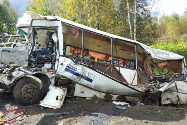 ДТП произошло в субботу утром около села Заячий-Холм