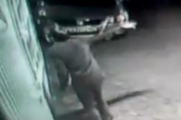 Преступление попало на записи камер видеонаблюдения