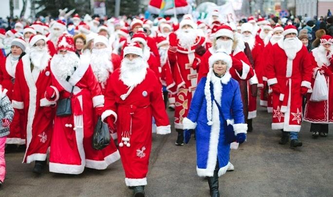 Нашествие Дедов Морозов в Рыбинске — 2019: появилась полная программа
