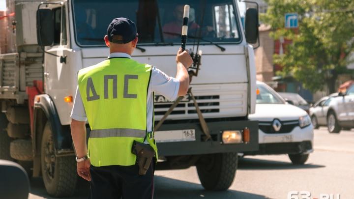 В Самаре задержали фуру с контрафактными напитками под маркой FIFA