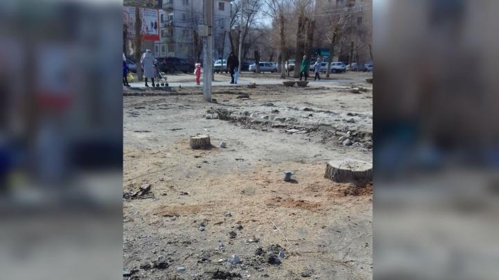 «Все изуродовали и изгадили»: жители юга Волгограда возмущены реконструкцией любимого парка