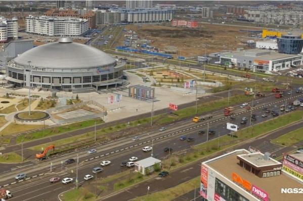 Компания «Стальмонтаж» построила в Красноярске «Арену-Север» и участвовала в строительстве ТРЦ «Планета»
