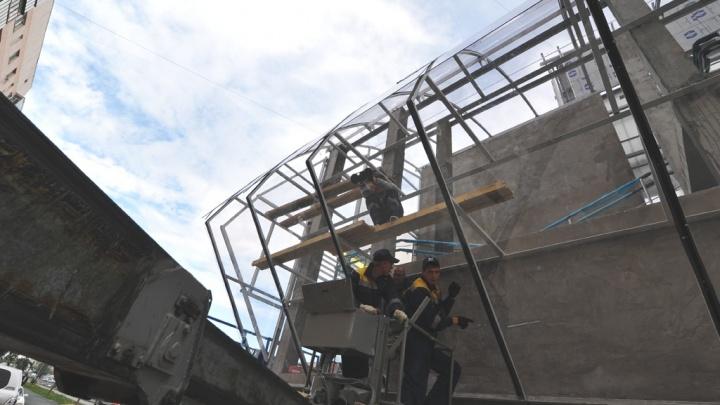 Под Тюменью до конца года возведут два надземных перехода, один из них — на месте смертельного ДТП