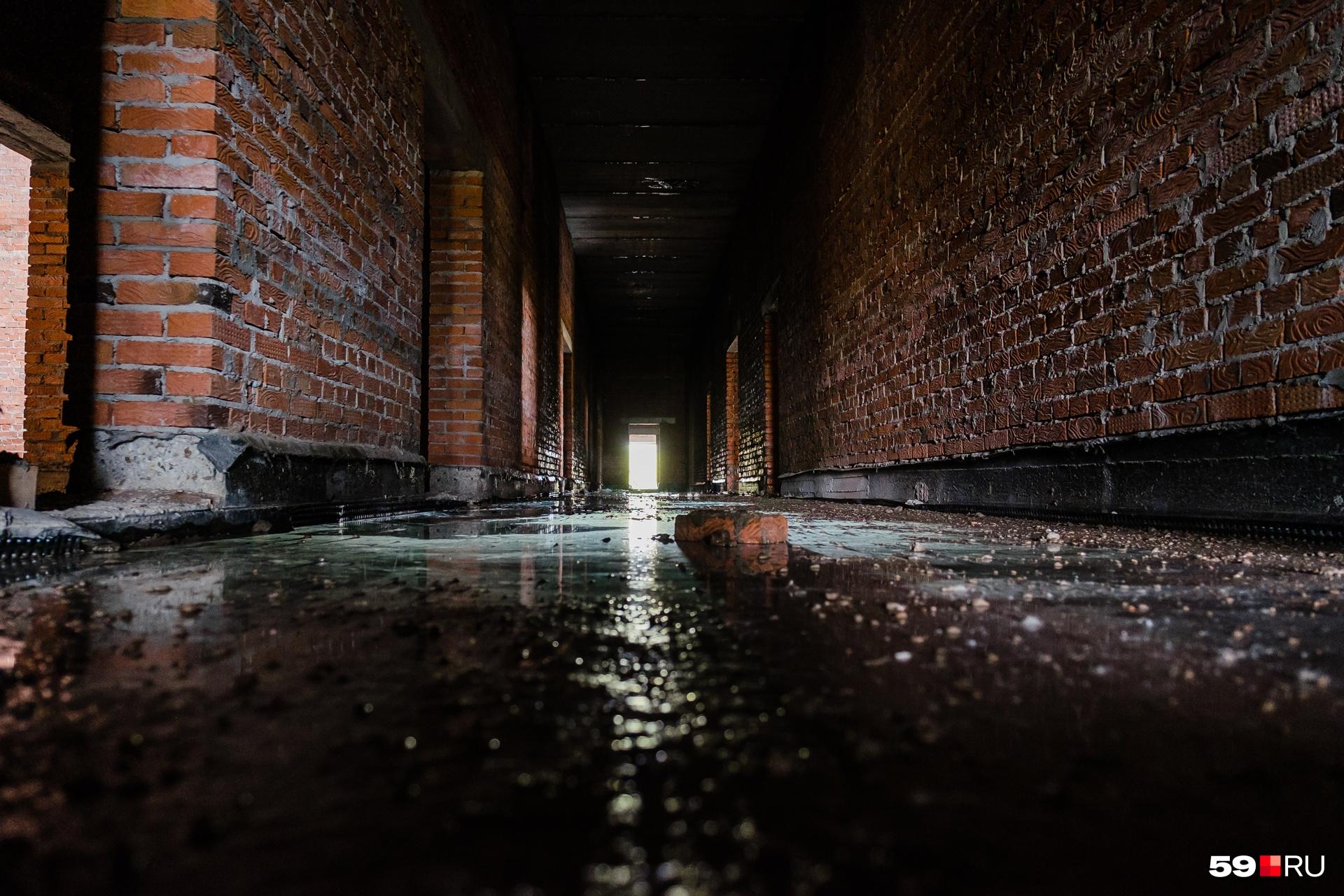 Самый мрачный коридор крематория