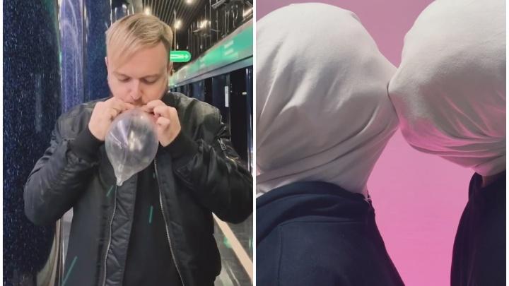 «Надевать, а не надувать»: екатеринбурженка сняла провокационные видео с парнем, живущим с ВИЧ