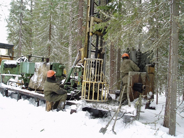 Геофизики в полях работают в зимний период —с сентября до апреля