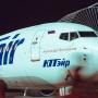 Самолет, летевший из Тюмени в Уфу, вынужденно сел из-за сообщения о повреждении лобового стекла