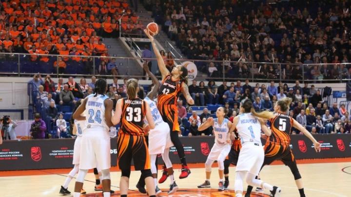 Забрали оба домашних матча: баскетболистки УГМК обыграли курское «Динамо» в финале чемпионата страны