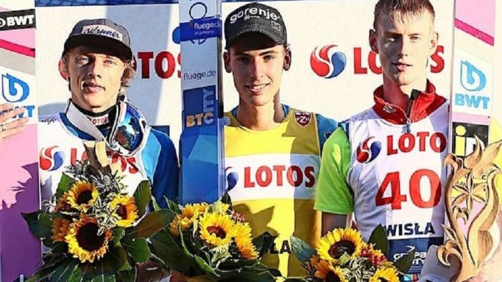 «Нет предела совершенству»: пермский летающий лыжник занял третье место на летнем Гран-при в Польше