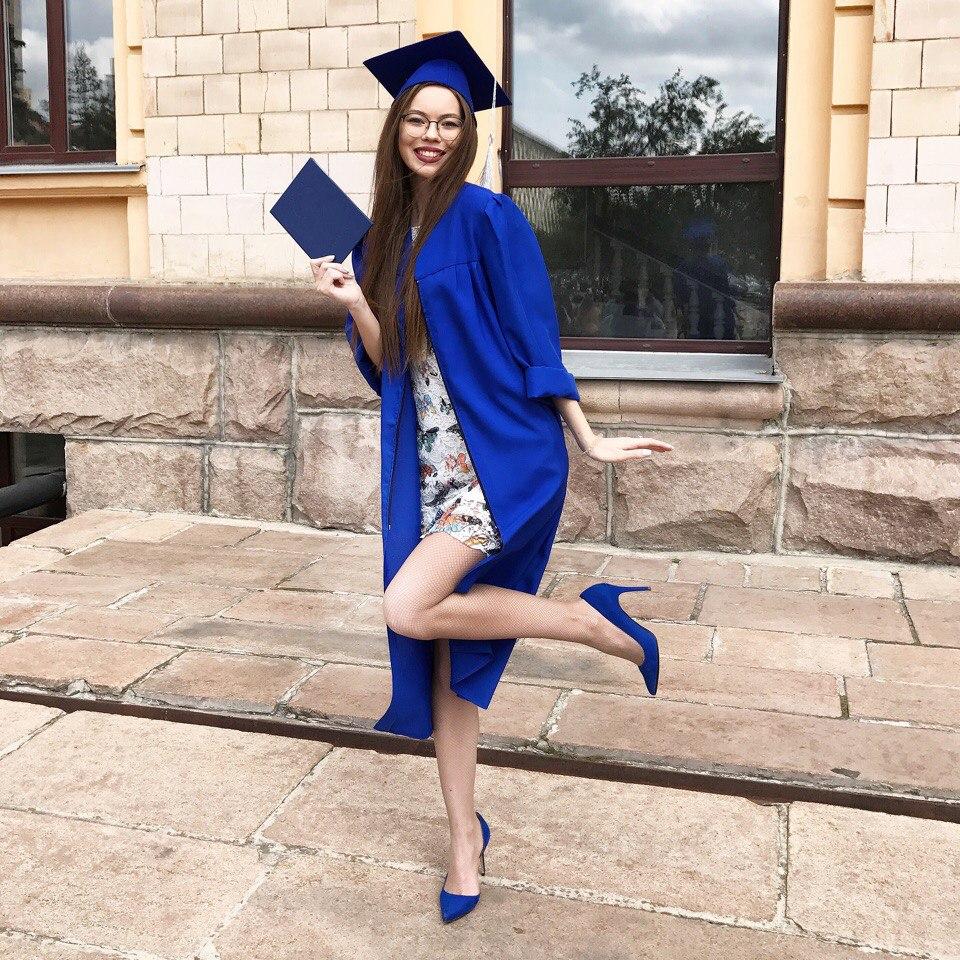 Елизавета — выпускница журфака ЮУрГУ
