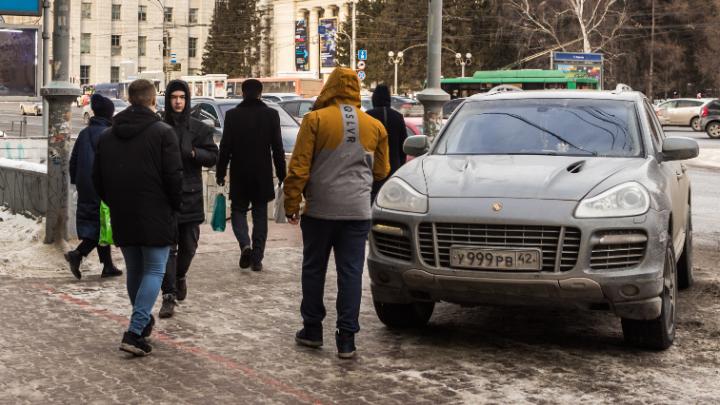 «Я паркуюсь как чудак»: «Порше Кайен» 999 — не пущу вас в метро