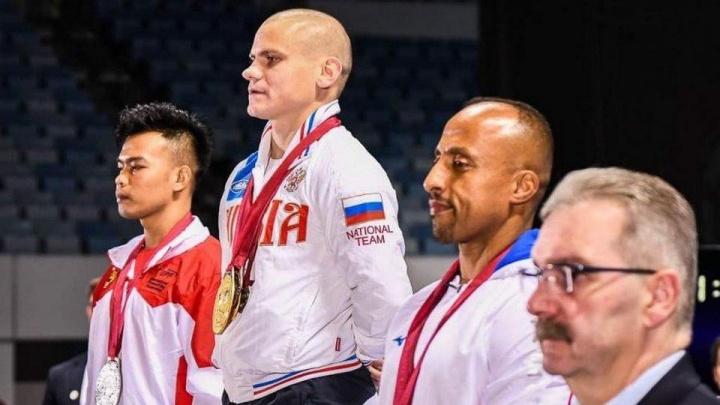 Силач из Красноярска стал чемпионом мира по пауэрлифтингу