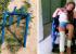 «Наложили 11 швов»: в Каменске-Уральском девочке разрезало ногу на сломанных качелях во дворе