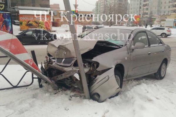 Как сообщают очевидцы, оба участника аварии не имели ОСАГО