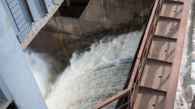 Жигулевская ГЭС объявила дату открытия водосливной плотины