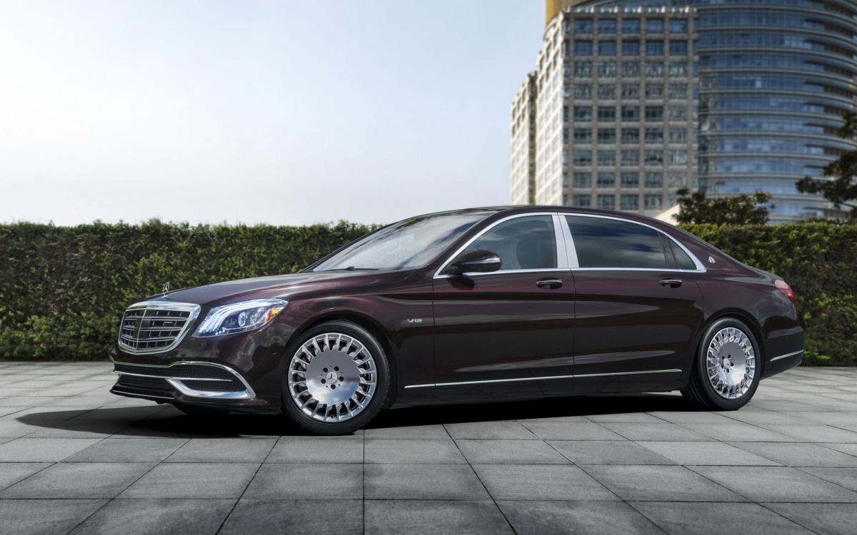 Mercedes-Benz Maybach — самый востребованный автомобиль в сегменте люкс