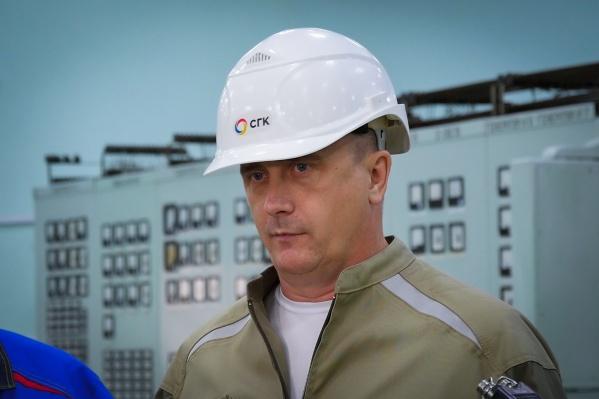 Андрей Колмаков,директор Новосибирского филиала Сибирской генерирующей компании