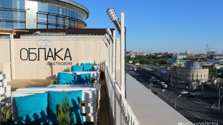 Новый омский бар «Облака» под открытым небом выставили на продажу