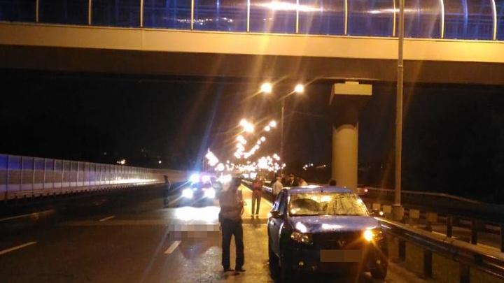 На трассе Уфа — Оренбург Renault Sandero сбил пешехода: мужчина погиб