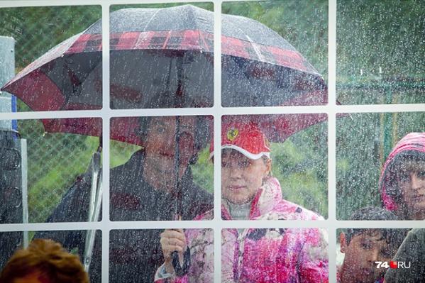 Дождь будет идти всю неделю