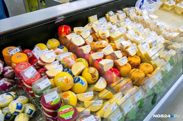 Правила выкладки касаются в том числе и сыра