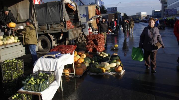 Проезд по площади Маркса закроют на 9 часов для палаток с мясом и овощами