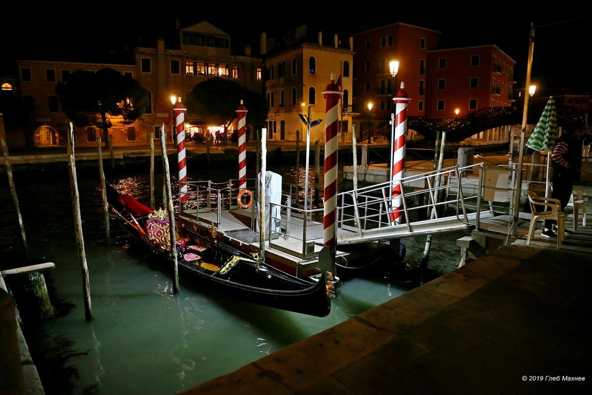 Ночная Венеция так же красива, как и дневная