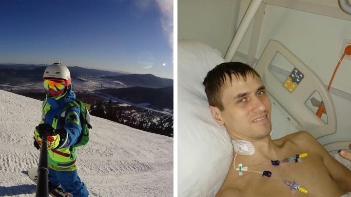 «Ходил с открытой раной»: новосибирский спортсмен чуть не остался без ноги после ошибочной операции
