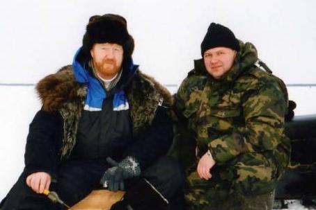 Анатолий Ефремов с экс-мэром Архангельска Виктором Павленко