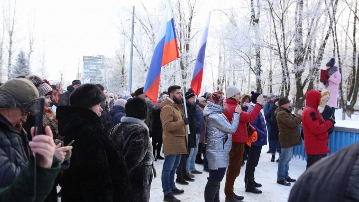«Мэр сломался»: в Ярославле прошёл митинг за отставку главы города. Фото