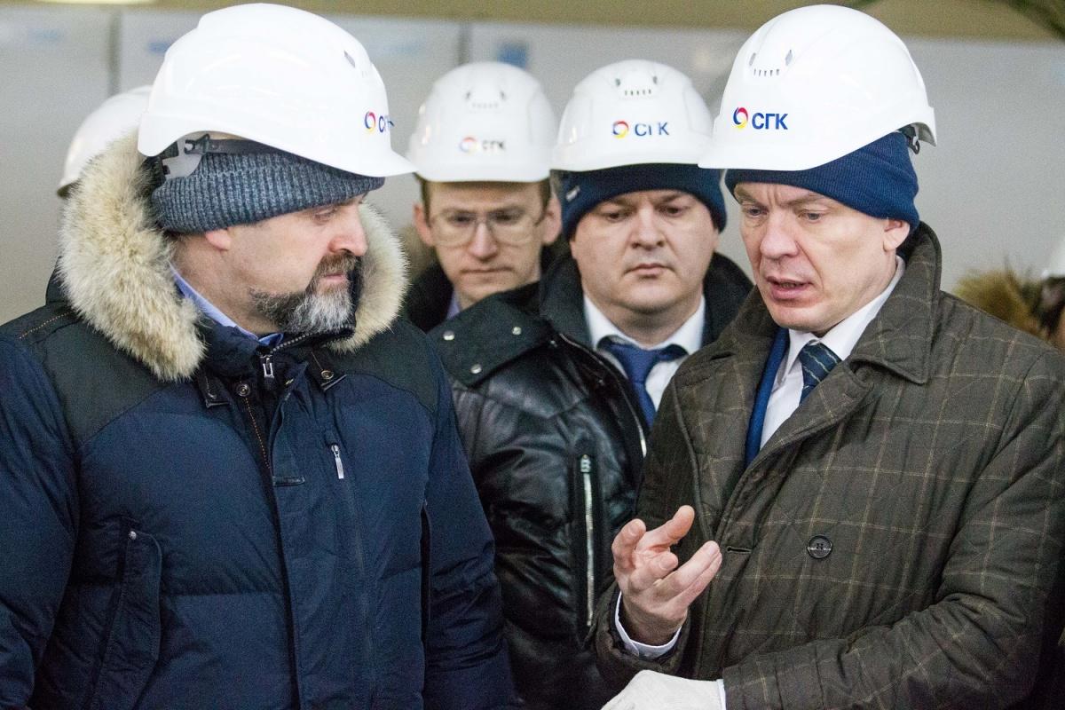 Сергей Донской посетил «Мечел» ичелябинскую свалку