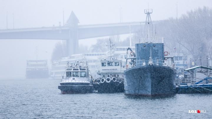 В Ростовской области судно село на мель