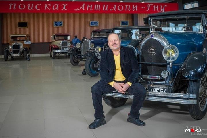 В коллекции Владимира Спиридонова было больше двух десятков ретроавтомобилей