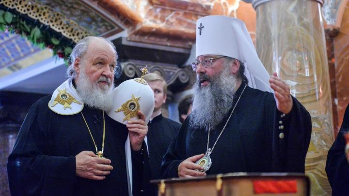 Патриарх Кирилл в Екатеринбурге: рассматриваем его кортеж и свиту