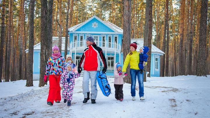 Скучно не будет: сибирский курорт приглашает отдохнуть на Новый год и Рождество