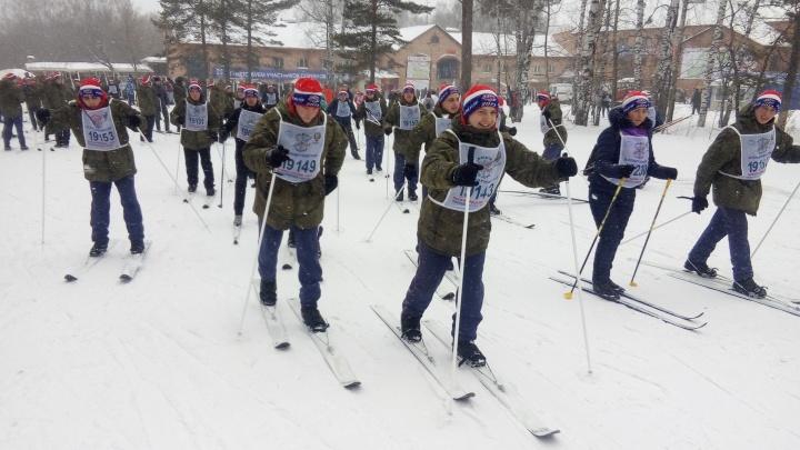 В Новосибирске стартовала «Лыжня России — 2019»