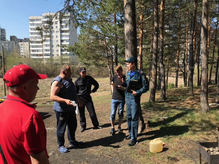 Барбекю в лесопарке для нарушителей заканчивается штрафом