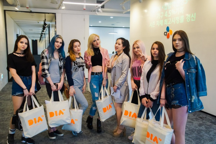 Участницы проекта Judance Team