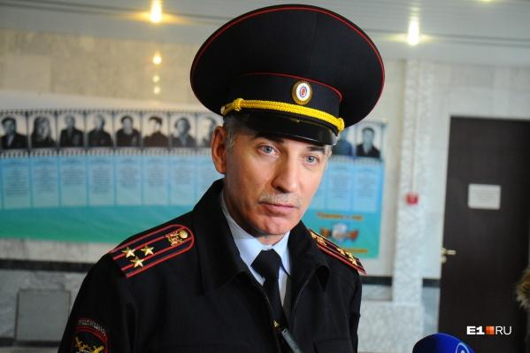Юрий Демин стал главой свердловской ГИБДД в 2005 году