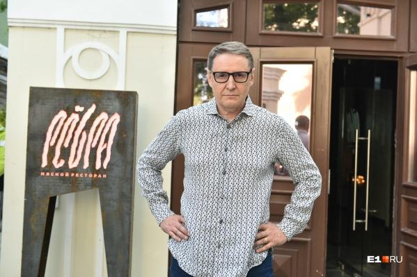 Недавно Ананьев открыл ресторан «Ребра», а через месяц запустит новый проект