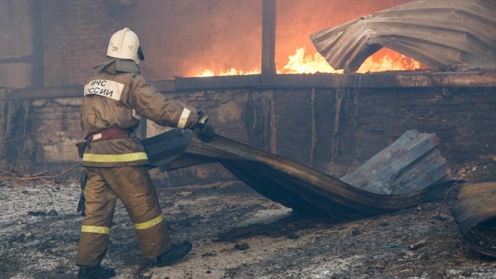 «Узнаем, откуда пошел огонь»: тело мужчины обнаружено на пепелище в Волгоградской области