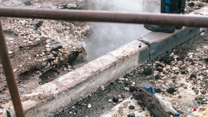 «Теплотрассы не выдерживают!»: вице-мэр Самары обвинил «ПТС» в неосторожном обращении с трубами