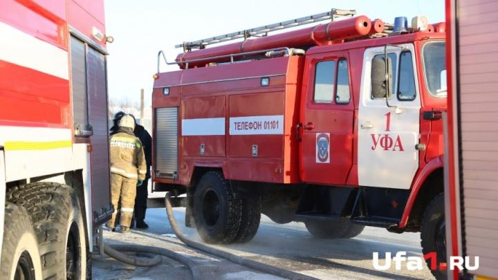 В Башкирии прогнозируется высокая пожарная опасность
