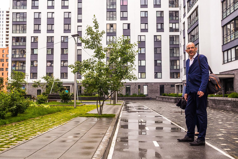 России, по мнению голландца, не хватает квалифицированных архитекторов, но молодое поколение должно исправить ситуацию
