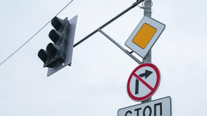 В Минтрансе объяснили, почему не включают светофоры на Московском — Ракитовском шоссе