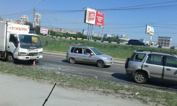 Авария возле дома  № 18/1  по ул. Фабричной