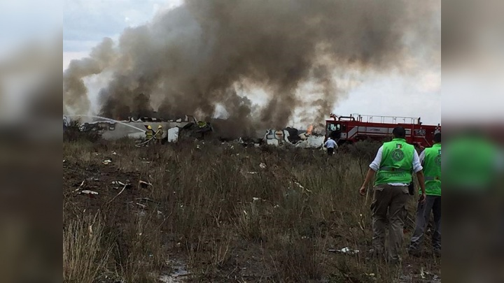 В консульстве уточнили информацию о возможных туристах на борту разбившегося в Мексике самолёта
